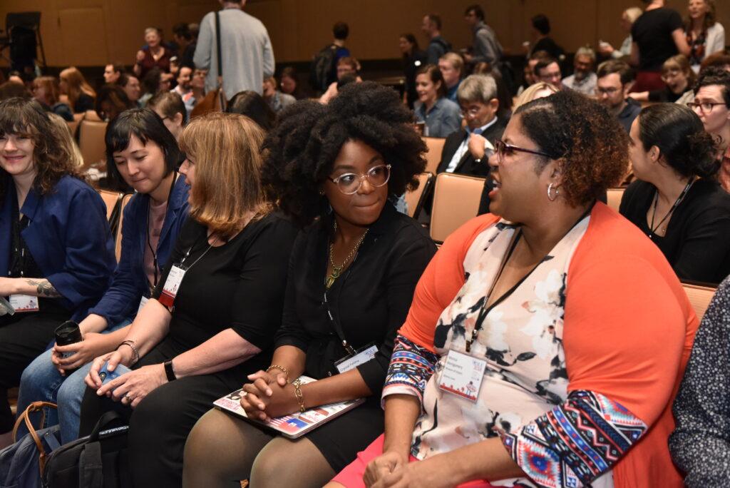 2018 Forum keynote audience